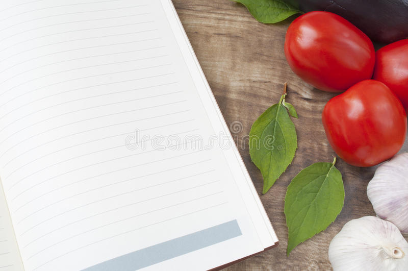 Download Recipe stock photo. Image of empty, page, foods, leaf - 20802764