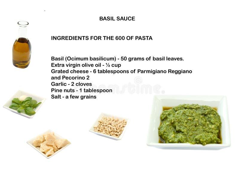 Download Recipe basil sauce stock photo. Image of parmesan, nuts - 14370584