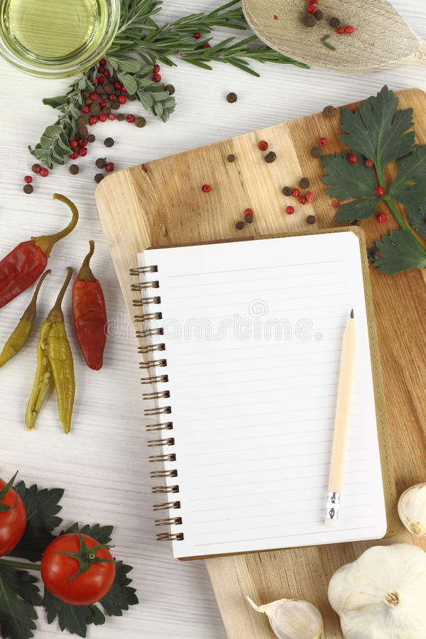 Recipe Book Stock Photos