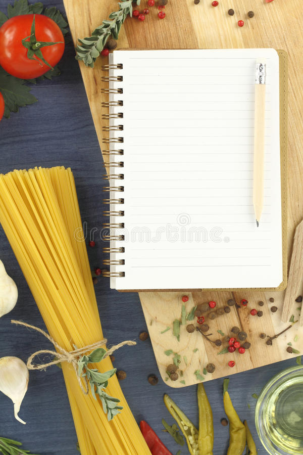 Download Recipe book stock image. Image of diet, frame, ingredient - 22412823