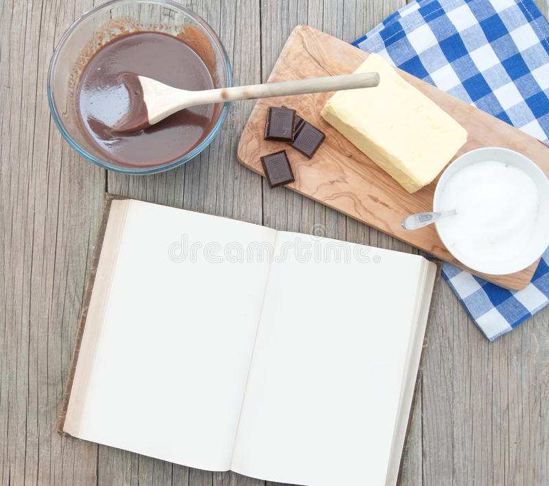 Download Recipe book stock image. Image of recipes, spoon, pages - 24345381