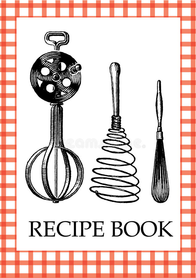 Recipe Book vector illustration