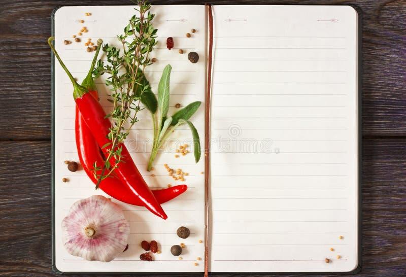 Recipe book. royalty free stock photos
