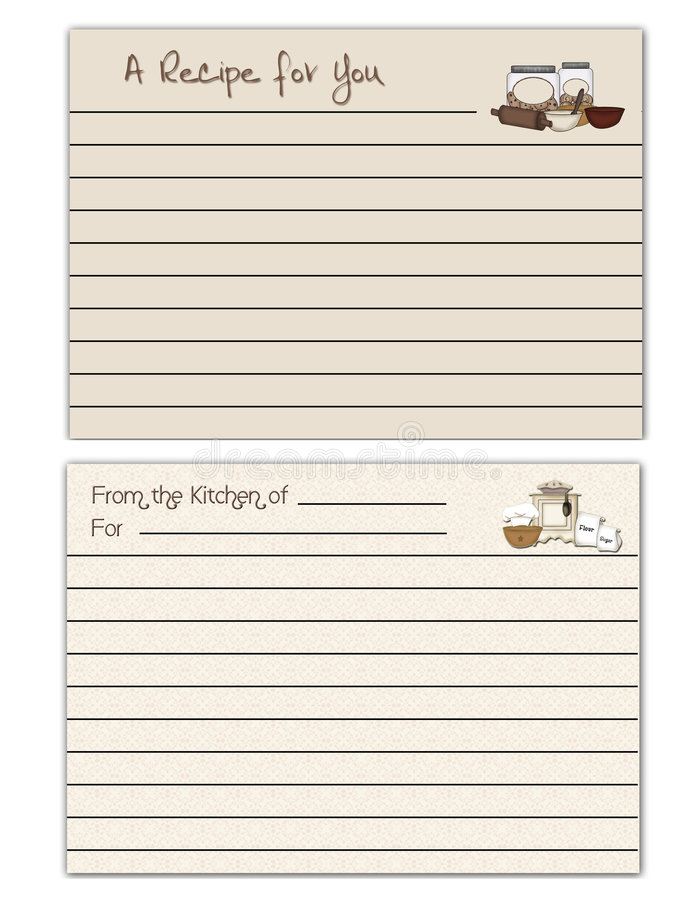 Download Recipe Cards Stock Photo - Image: 6885180