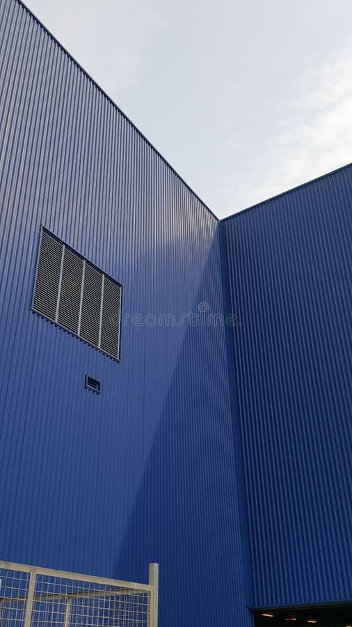 Recipiente azul foto de stock royalty free