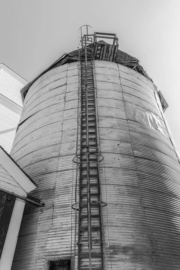 Recipiente del grano fotografie stock