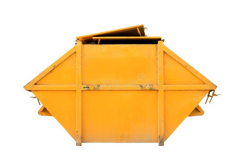 Recipiente di rifiuti industriali (bidone della spazzatura) per rifiuti urbani o il industria fotografia stock