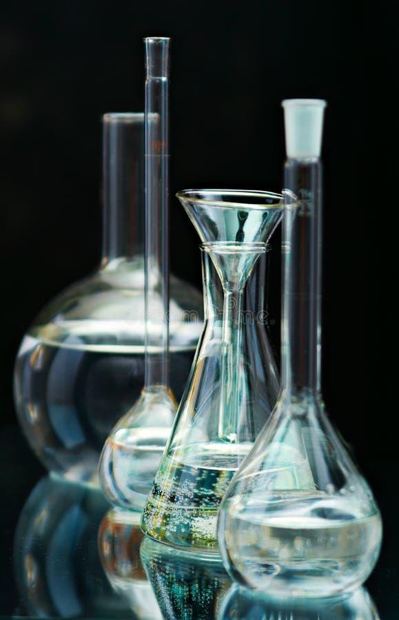Recipiente do laboratório imagens de stock