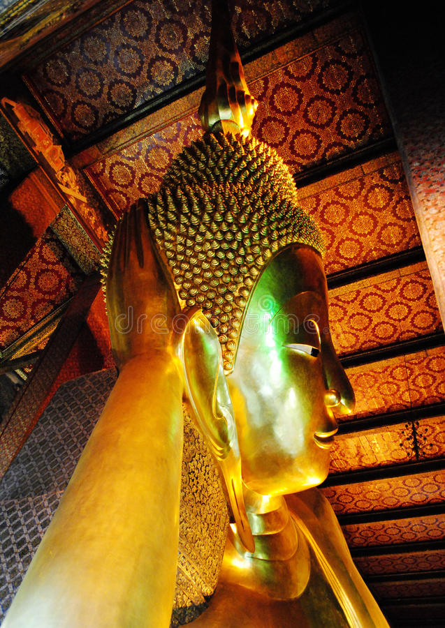 Download Reclining Buddha stock image. Image of budda, landmark - 21580257