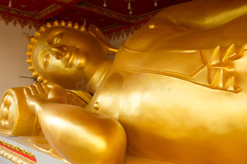 Download Reclining Buddha stock photo. Image of luang, religion - 28490992