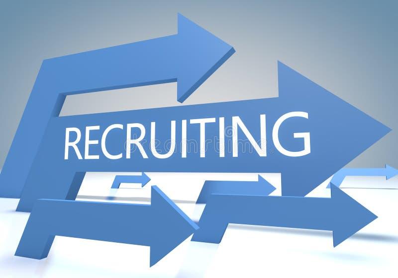 reclutamento immagine stock