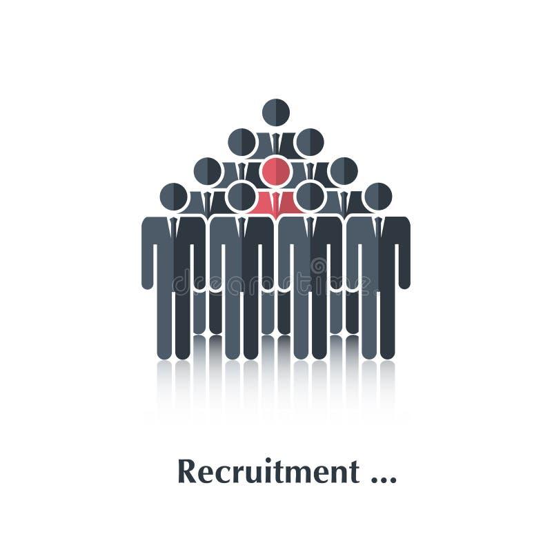 reclutamiento libre illustration