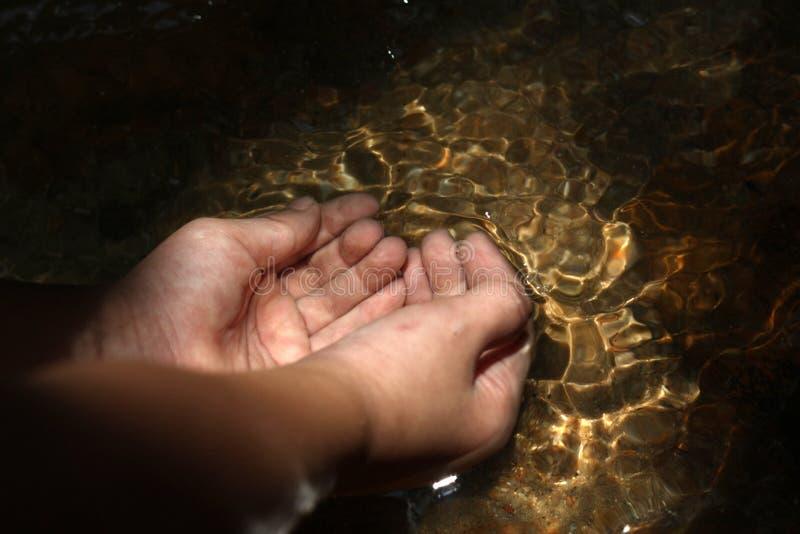 Recogida del agua para la vida foto de archivo libre de regalías