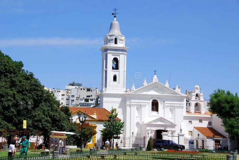 Recoleta教会 库存照片