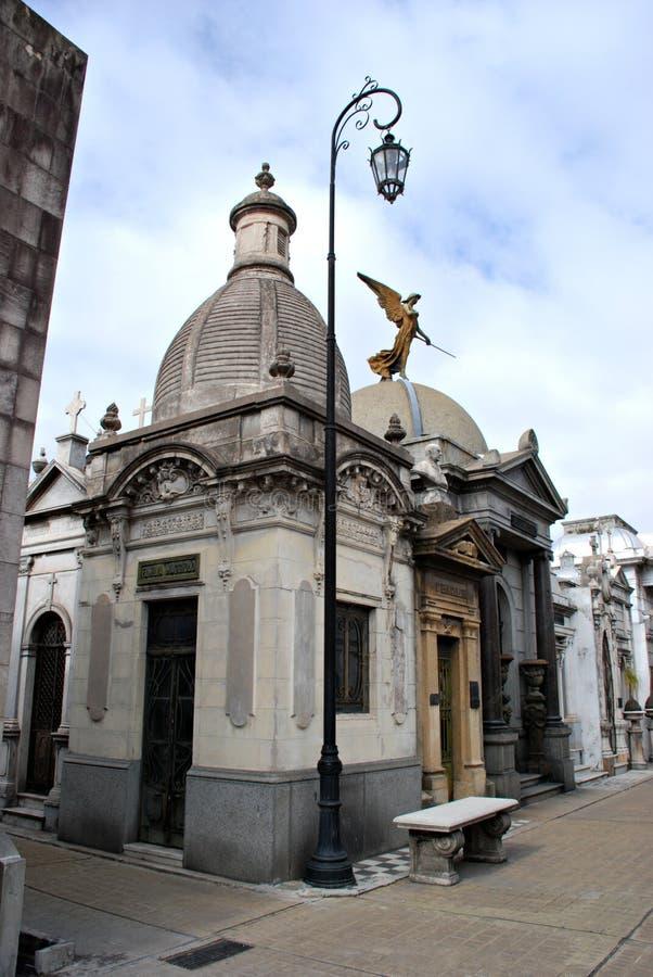 recoleta кладбища стоковые фото