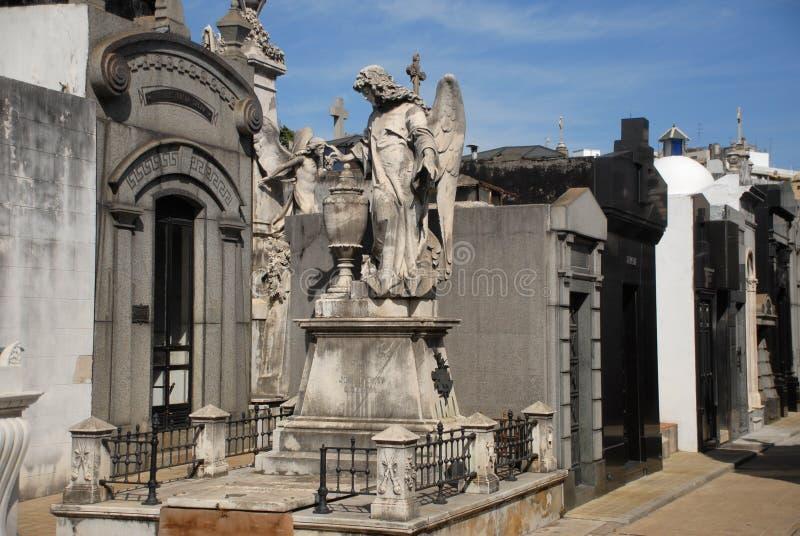 Recoleta Cemetary, Buenos Aires. royalty free stock photo