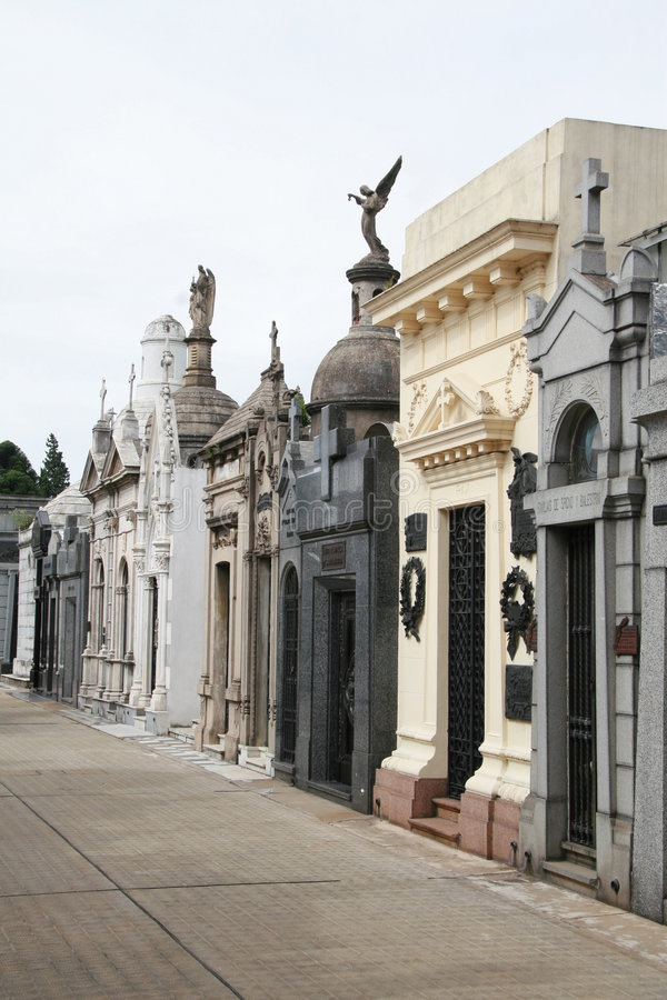 Download Recoleta Cemetery In Buenos Aires Royalty Free Stock Photos - Image: 4090798