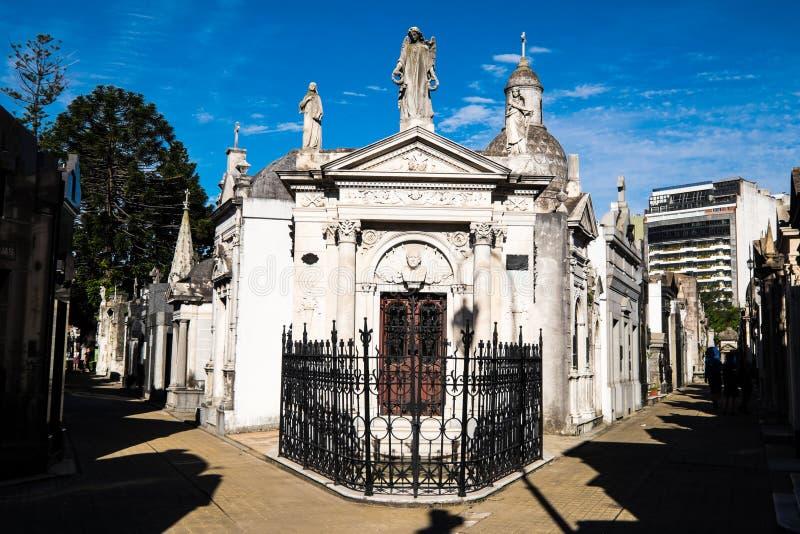 Recoleta Cemetery, Buenos Aires royalty free stock photo
