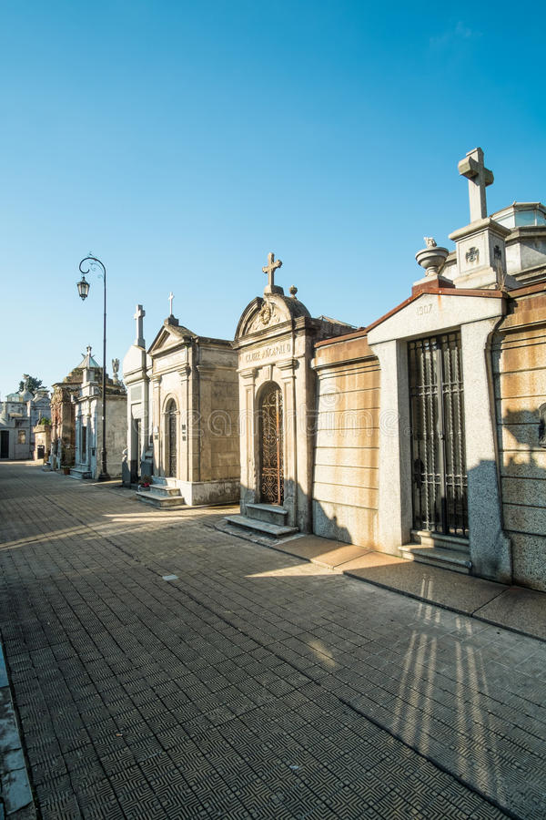 Recoleta cemetry royalty free stock image