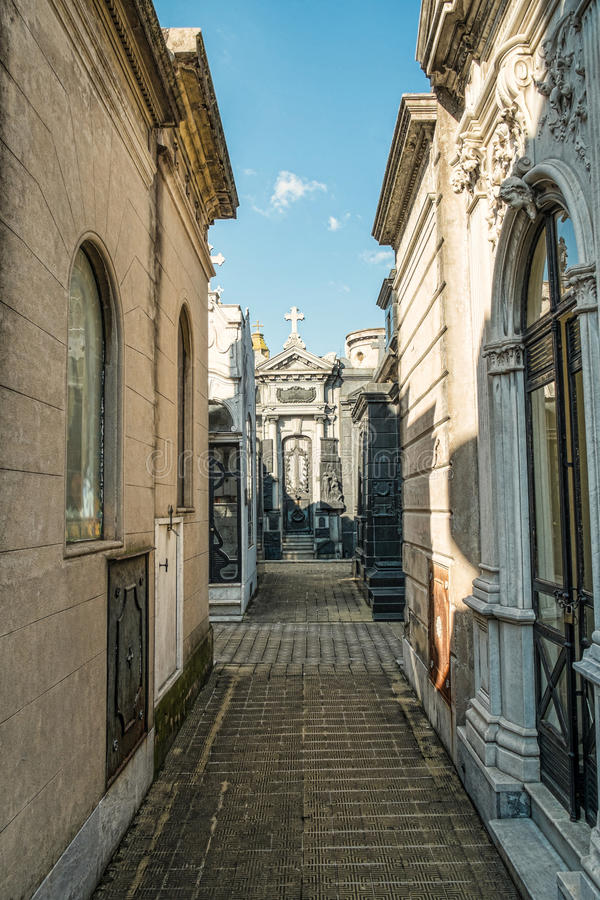 Recoleta cemetry royalty free stock photo
