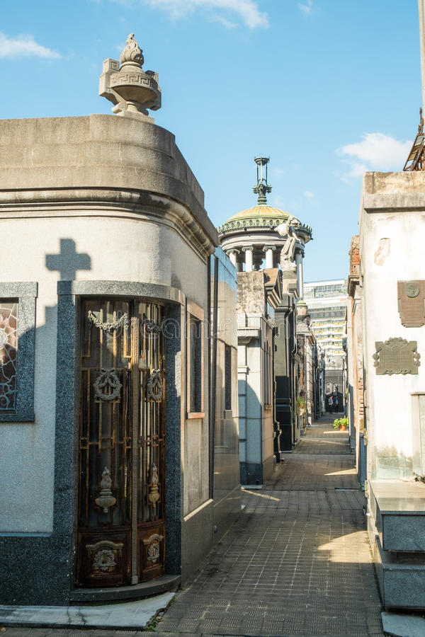 Recoleta cemetry royalty free stock images
