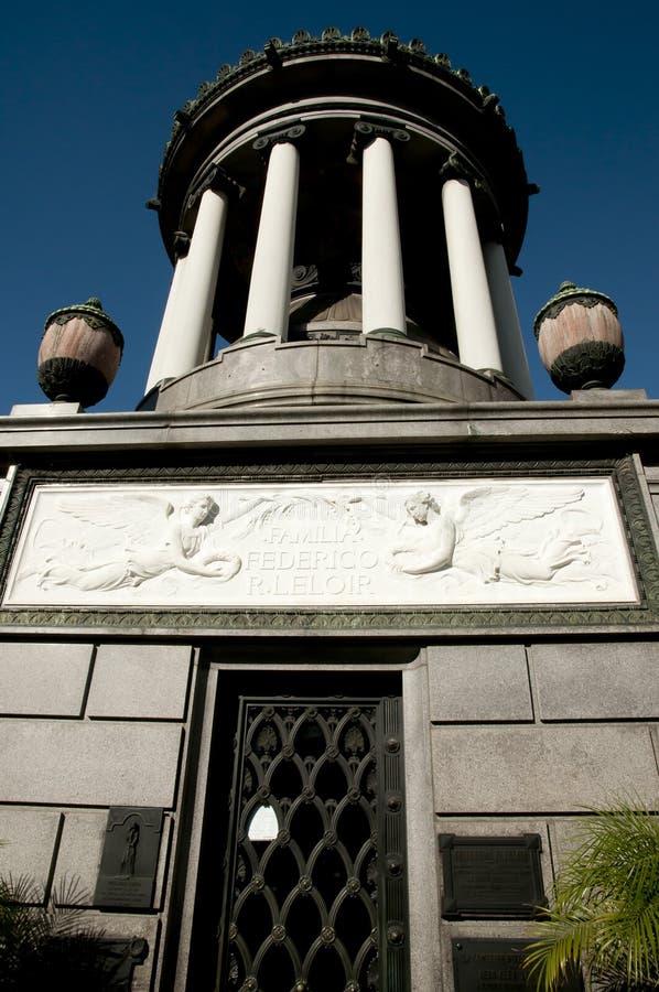 Recoleta cmentarz Buenos Aires, Argentyna - obrazy stock