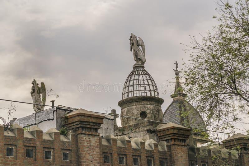 Recoleta cmentarz w Buenos Aires Argentyna zdjęcia stock