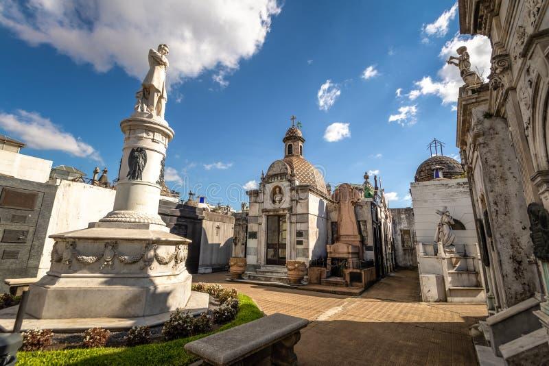Recoleta-Kirchhof - Buenos Aires, Argentinien lizenzfreies stockfoto