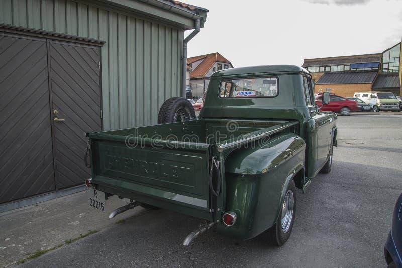 Recolhimento 1956 de Chevrolet 3100 foto de stock royalty free
