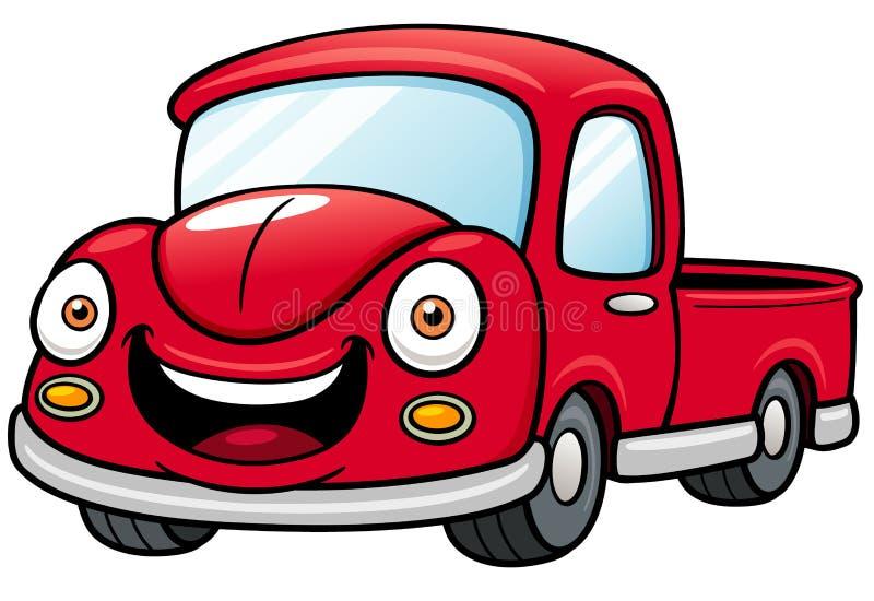 Recolhimento do carro ilustração royalty free