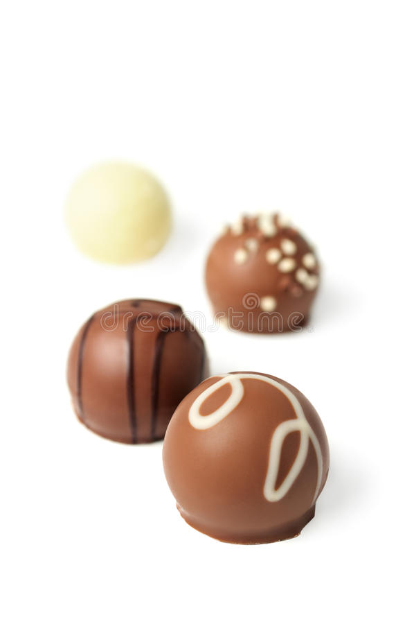 Recolhimento do chocolate fotografia de stock royalty free