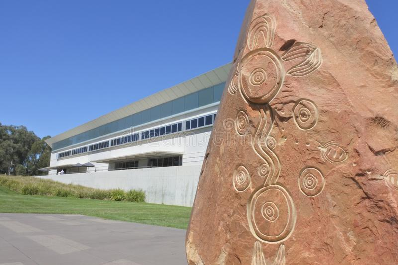 The Reconciliation Place in Canberra Parliamentary Zone Australia Capital Territory stock photos