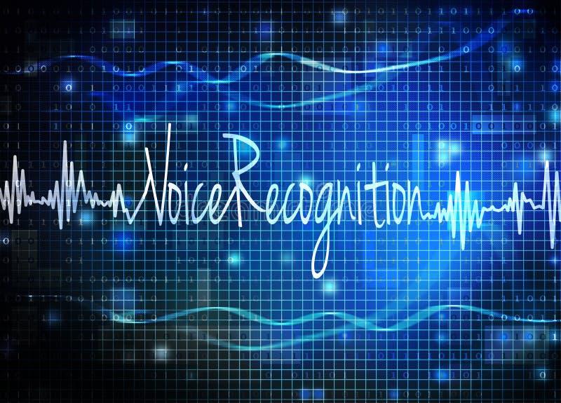 Reconhecimento de voz imagem de stock