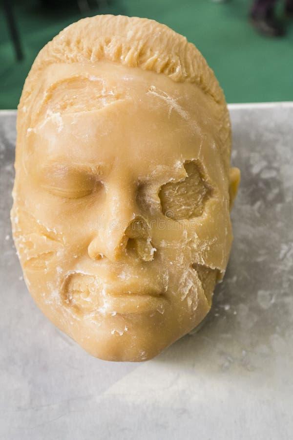 reconstrucción de la cara del rabber imágenes de archivo libres de regalías