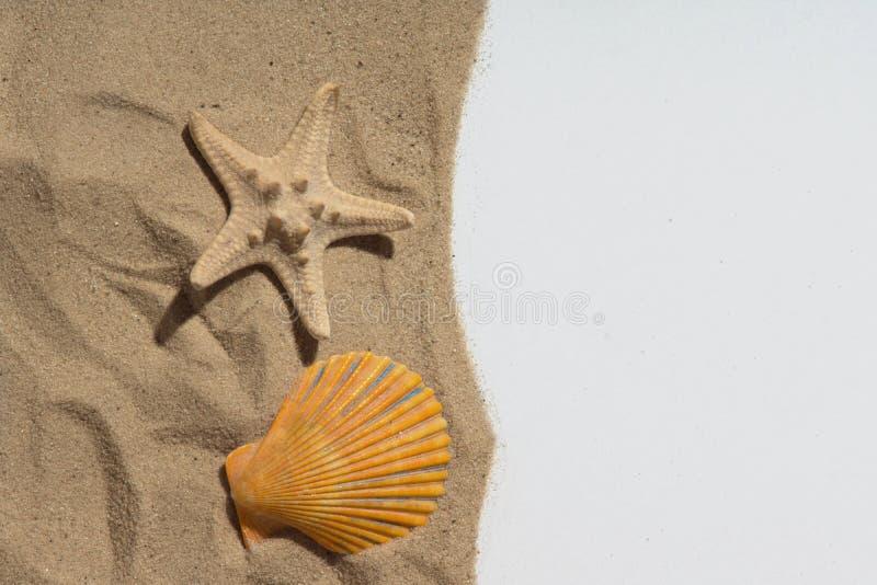 Reconstrucción y playa foto de archivo libre de regalías