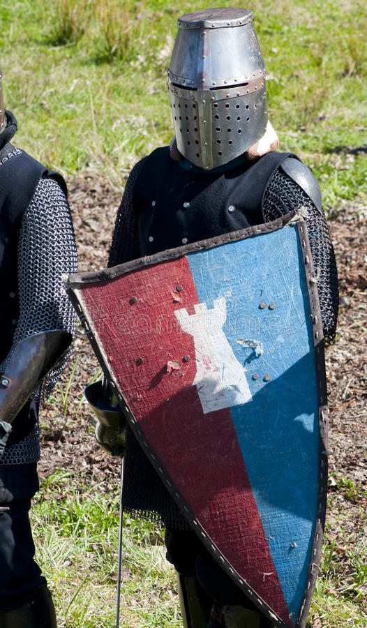 Download Reconstruction Of Knightly Fight Stock Photo - Image: 14853532