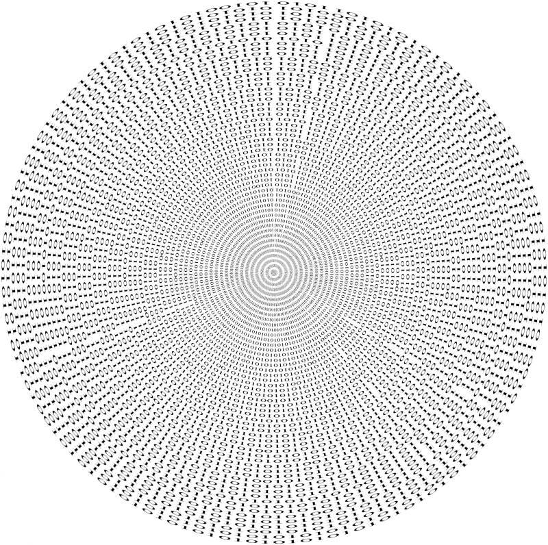 Record di base di dati binari, mucchio di molti numeri immagini stock libere da diritti