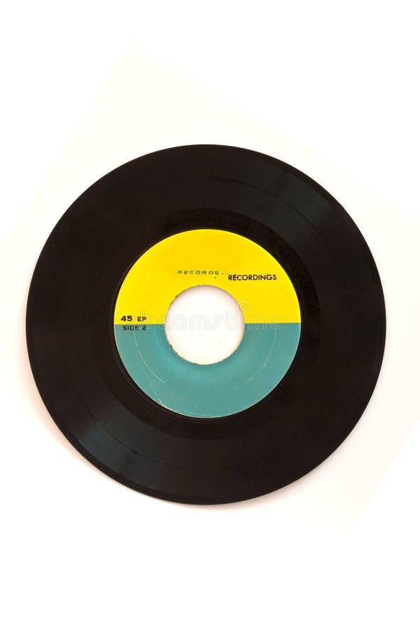 Record di fonografo fotografia stock
