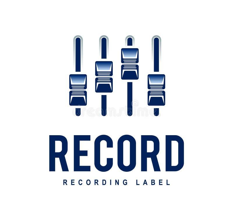 Record Logo vector illustration