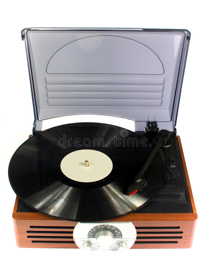 Record player royalty free stock photos