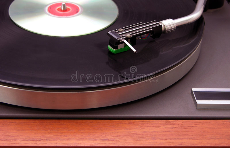 Download Record Player With CD Stock Photography - Image: 2303202