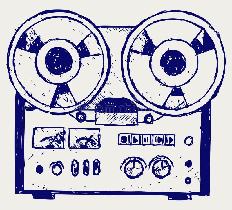 Download Recorder sketch stock vector. Illustration of design - 26513801