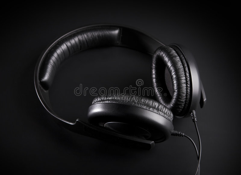 Download Recording Studio Headphones. Stock Image - Image of computer, hearing: 2300717