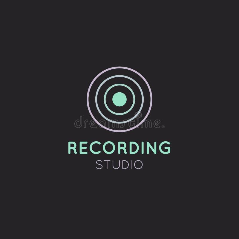 Download Recording Studio Label Stock Illustration - Image: 83710254