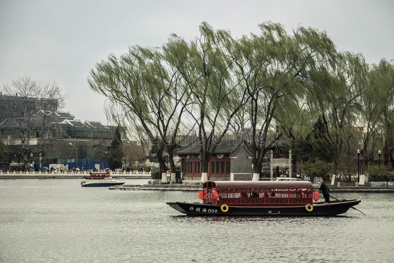 Recorrido en China imagenes de archivo