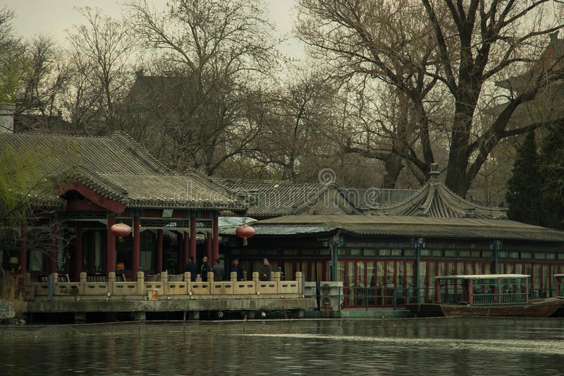 Recorrido en China foto de archivo