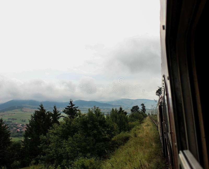 Recorrido en tren imagenes de archivo