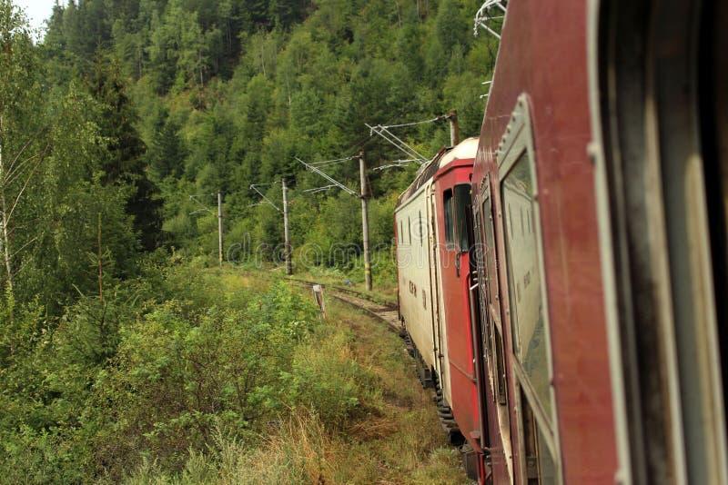 Recorrido en tren fotografía de archivo