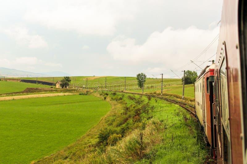 Recorrido en tren fotografía de archivo libre de regalías