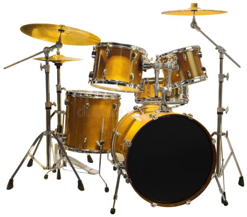Recorte de Drumset fotos de archivo